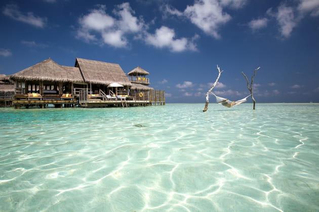 Le Gili Lankafushi à Atoll Malé Nord aux Maldives