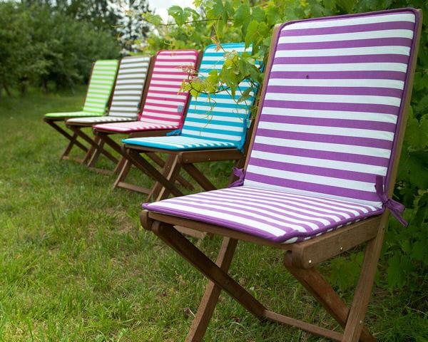 coussin de chaise marini re de jardin priv. Black Bedroom Furniture Sets. Home Design Ideas