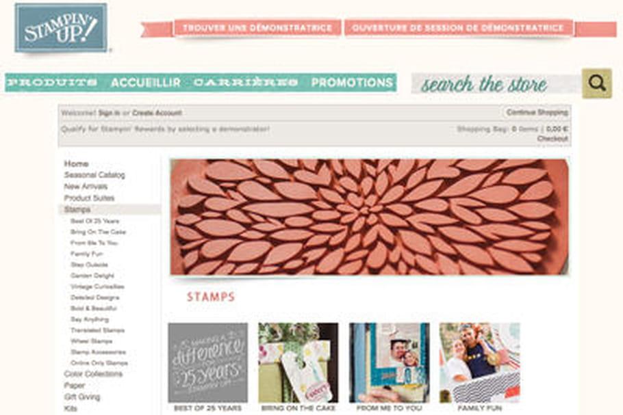 Stampin 39 up lance une e boutique de loisirs cr atifs - Boutique des loisirs creatifs ...