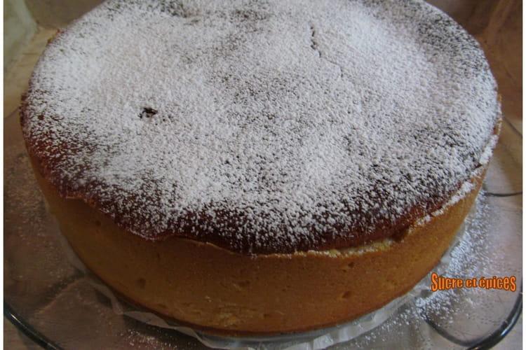 Tarte alsacienne au fromage blanc et rhubarbe (Käsekuchen)