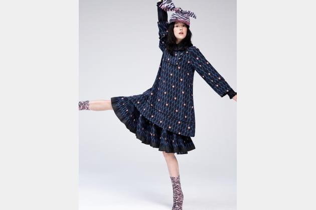 Kenzo X H&M, look 16