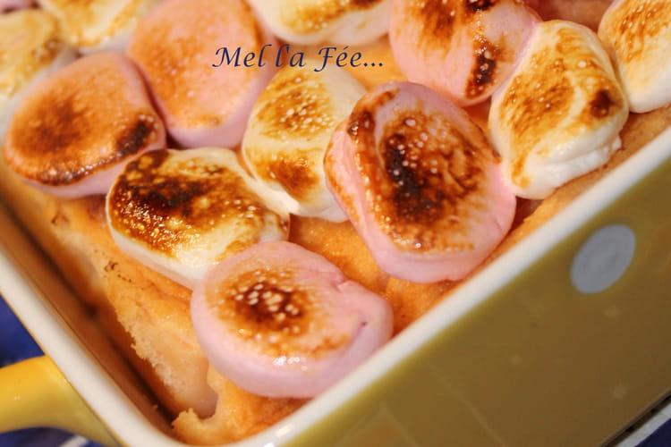 Gâteau magique aux marshmallows