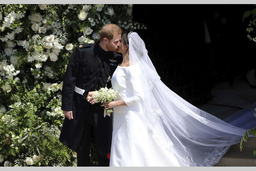 Mariage de Meghan Markle et du prince Harry   les plus beaux moments en  images b087587d23d