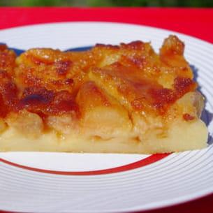 far aux pommes caramélisées