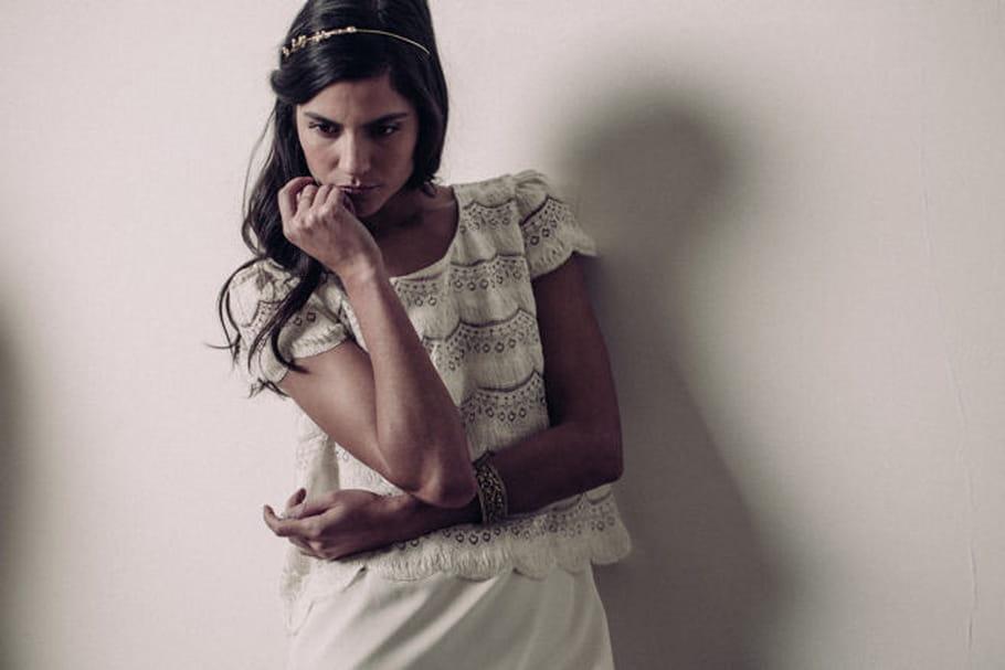 Laure de Sagazan x Dorothée Flores : des accessoires précieux pour les cheveux