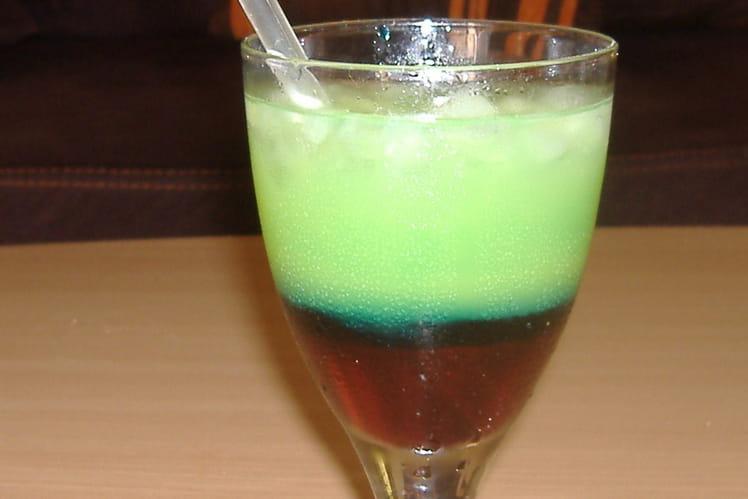 Cocktail au curaçao
