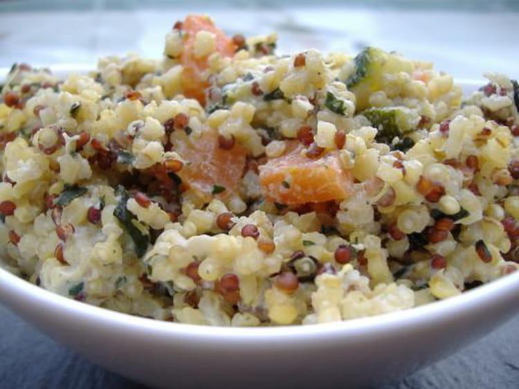Risotto de quinoa cr meux la ricotta for Cuisiner quinoa