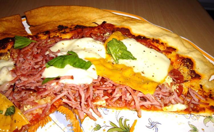 Recette de tarte la p te de tomates s ch es et jambon - Cuisiner des tomates sechees ...