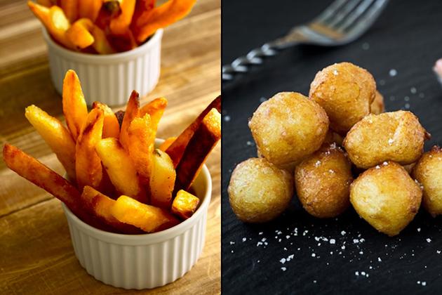 Frites ou pommes de terre dauphine?