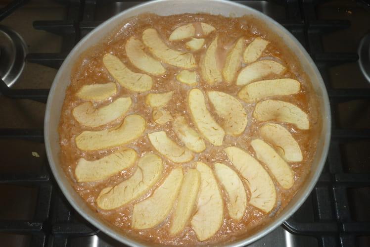 Gâteau de riz aux pommes