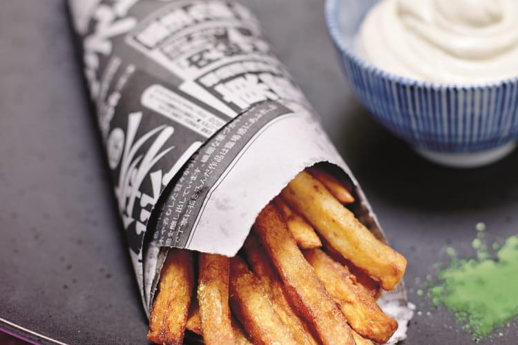 Frites au wasabi et leur incroyable mayonnaise