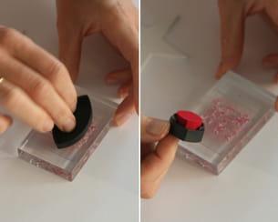 colorer le tampon
