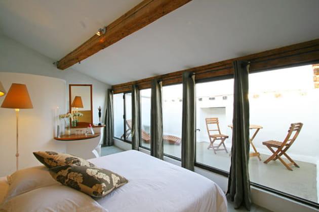 Une baie sur la terrasse - Baie vitree pour terrasse ...