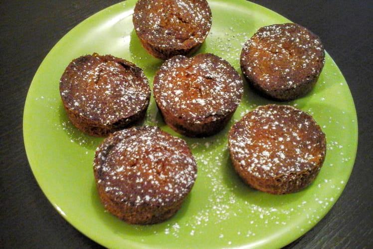 Muffins aux poires et aux épices