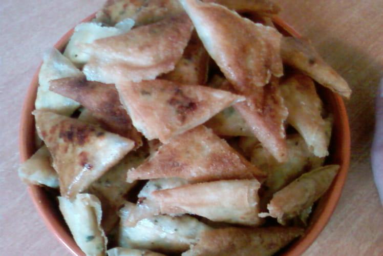 Samoussas au poulet