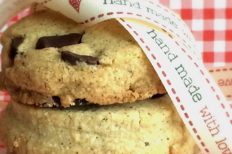 Les Dodus, sablés aux flocons d'avoine, noisette et chocolat