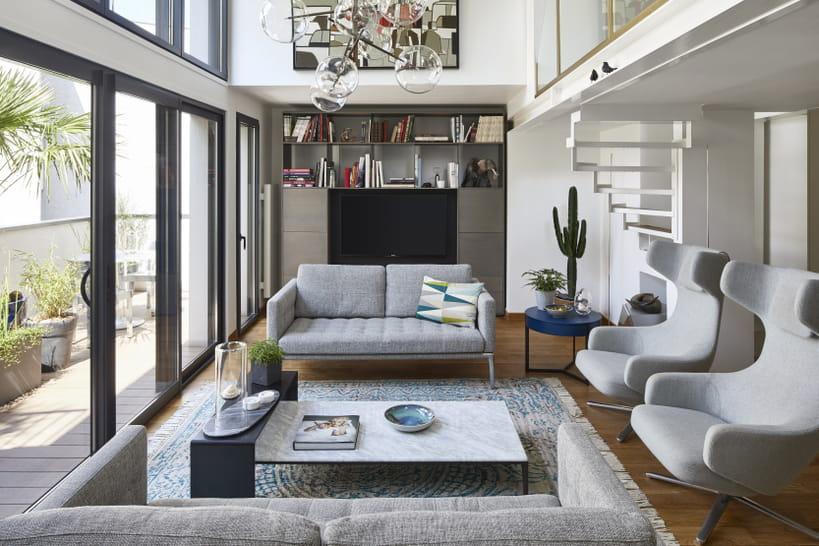 Un duplex avec une terrasse de 100 m² : le rêve en plein centre-ville !