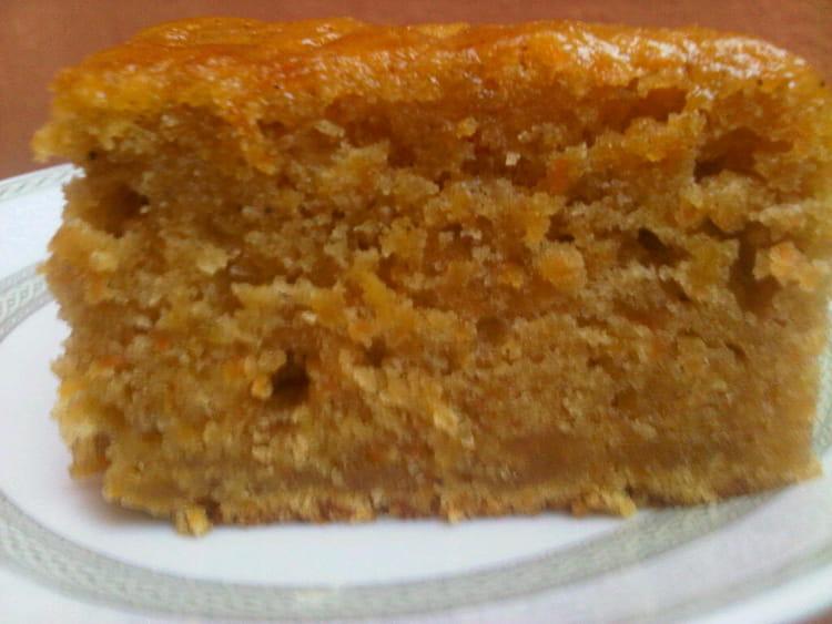 recette de cake aux carottes et à la canelle : la recette facile
