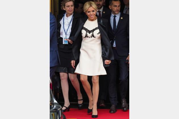 Brigitte Macron le 19septembre 2017