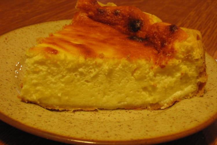Gâteau au fromage blanc aérien