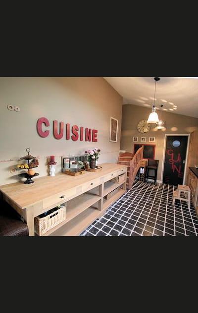 Vocabulaire culinaire au mur
