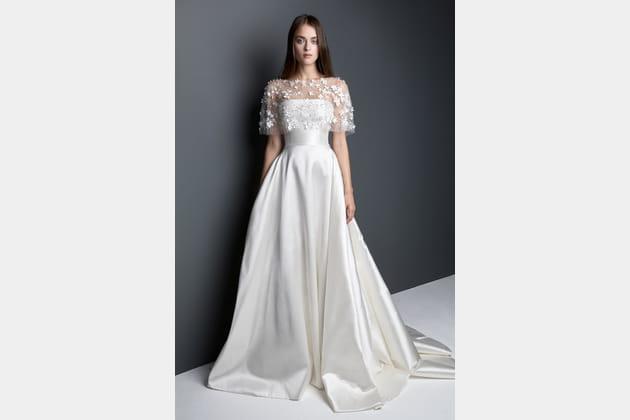 Robe de mariée bustier de Georges Hobeika
