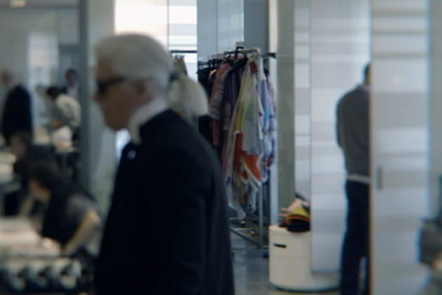 L'actuel studio Chanel
