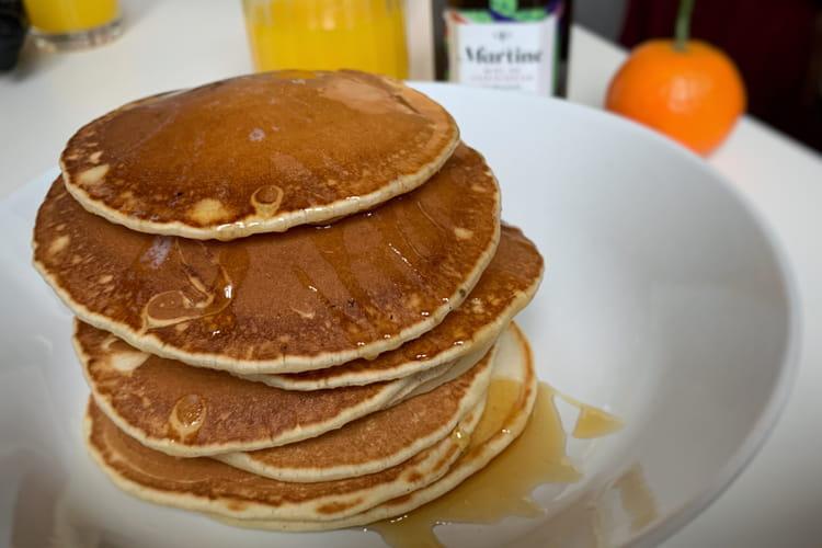 Pancakes infiniment amande