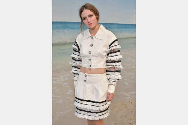 Christa Theret au défilé Chanel