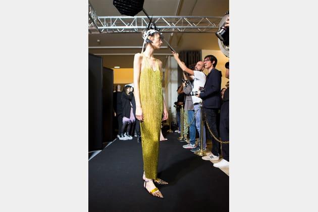Haider Ackermann (Backstage) - Printemps-été 2017