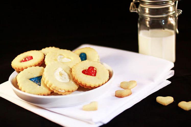 Biscuits Sandwichs du 14 Juillet {qui pétillent}