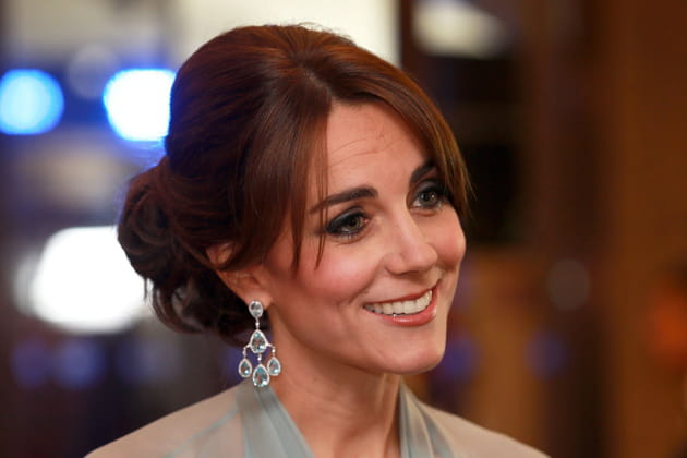 Kate Middleton : le chignon de princesse