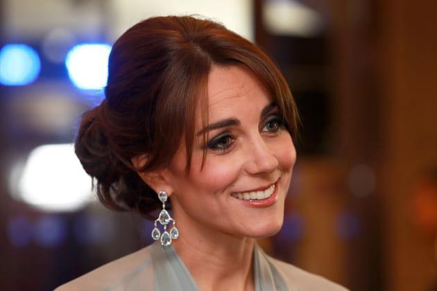 Kate Middleton: le chignon de princesse