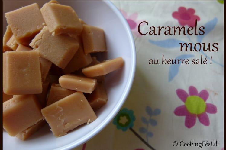 Caramels fudge au beurre salé