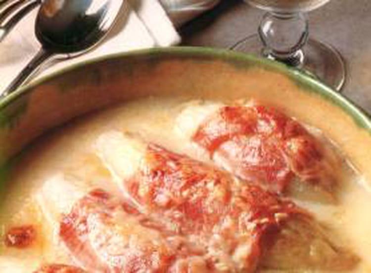 Gratin d 39 endives au jambon - Cuisiner endives au jambon ...