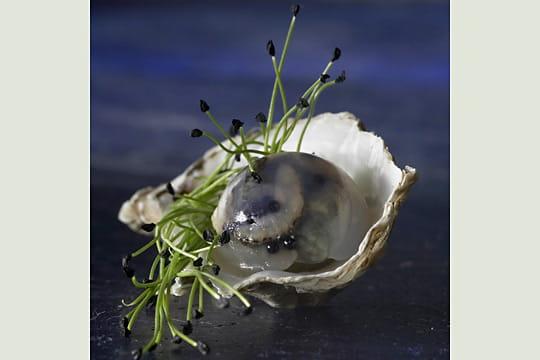 Perle d'huitre par Michel Langot