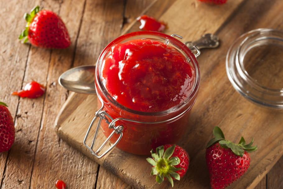 confiture de fraise qui ne prend pas