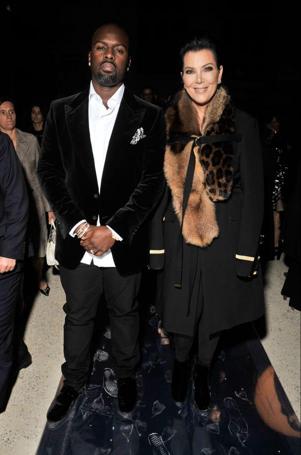 Corey Gamble et Kris Jenner