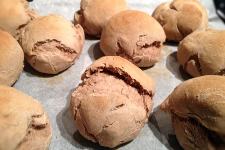 Petits pains à la farine de châtaigne