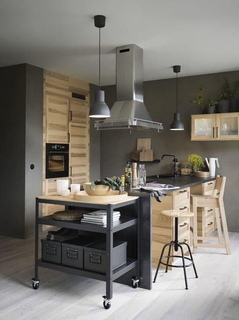 Une cuisine en bois