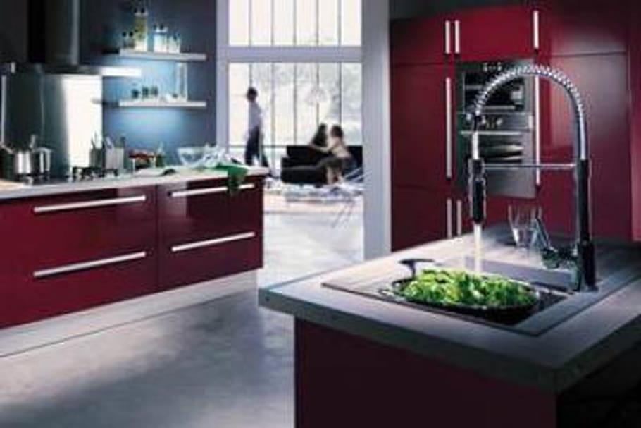 Une cuisine moderne et conviviale la cuisine city hygena for Une cuisine moderne