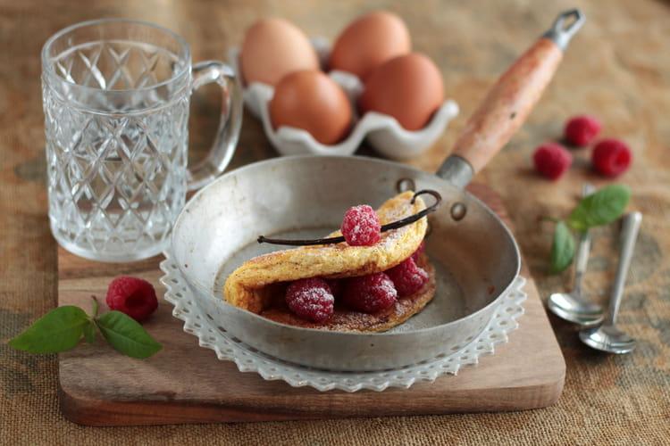 Omelette sucrée à la vanille au Companion