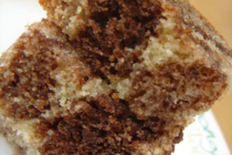 Muffins façon mini cakes marbrés