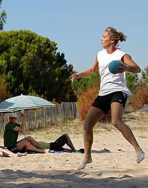 audrey deroin, vice championne du monde de sandball 2009