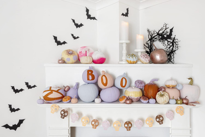 Tuto facile pour décorer des citrouilles d'Halloween