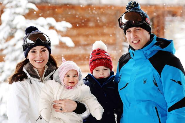Kate Middleton et le prince William ont joué à la famille parfaite