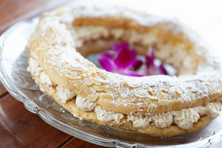 Paris-Brest à la chantilly