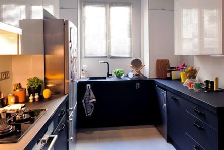 La cuisine en u en image for Bien amenager sa cuisine
