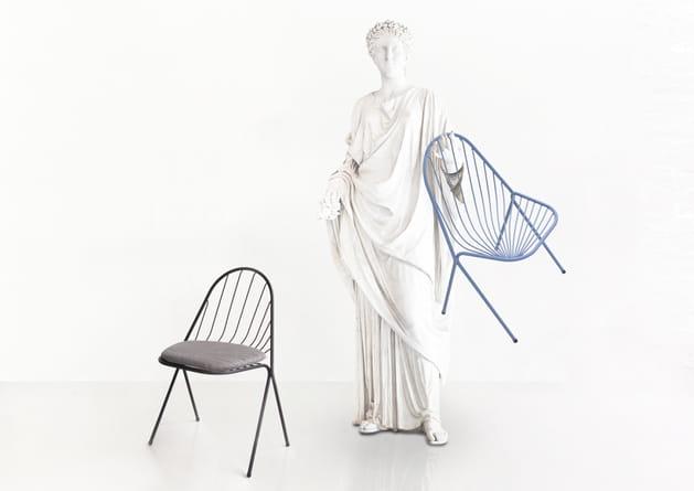 Chaise Drapée de Constance Guisset X Petite Friture