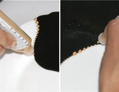 faire des perles dorées
